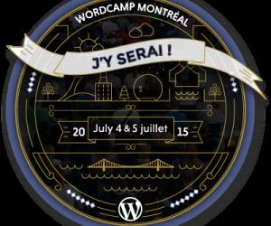 WordCamp Montréal 2015 – Les grandes lignes